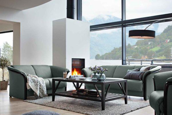 Ekornes-Stressless-green-sofas