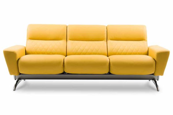 Ekornes-Stressless-yellow-sofa