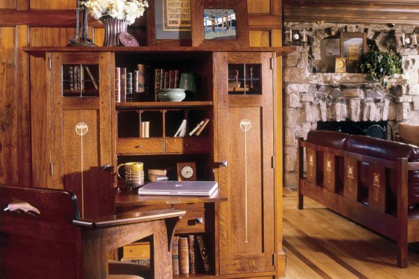 Stickley-cabinet