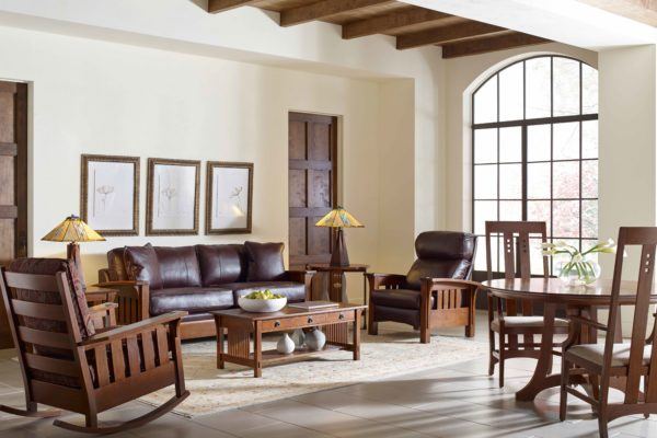Stickley-living-room-rocking-chair