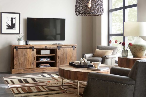 entertainment-center-wooden