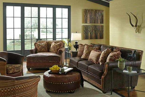 king-hickory-leather-couch-living-room